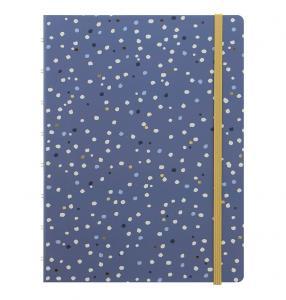 Filofax Notebook A5 Indigo Snow