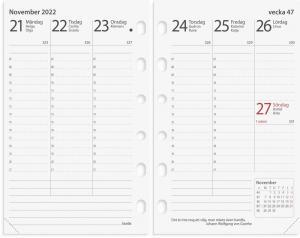 Compact kalendersats Prestige 2022
