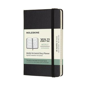 Moleskine Horizontal Weekly Pocket Hard 21/22