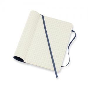 Moleskine Moleskine Plain Classic Notebook Large - Blå - Kalenderkungen.se