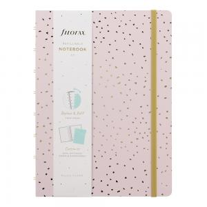Filofax Notebook A5 Confetti Rose Quartz