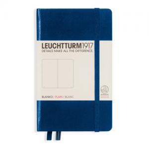 Leuchtturm1917 Leuchtturm Notebook A4+ hard Navy olinjerad - Kalenderkungen.se