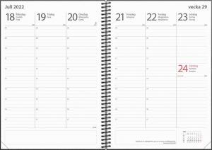 Kalender Study Year A5 2021-2022
