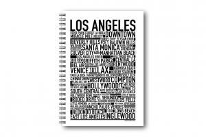 Gullers Anteckningsbok Los Angeles - Kalenderkungen.se