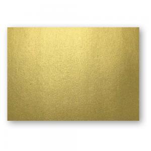 A7 Kort 10-pack 220g Guld