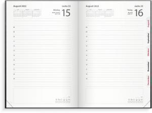 Inbunden dagbokskalender 2022