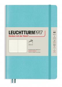 Leuchtturm Notebook A5 soft Dotted Aquamarine