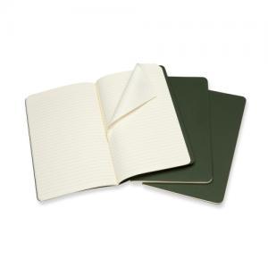 Moleskine Moleskine Cahier Journal Large Ruled - Grön - Kalenderkungen.se