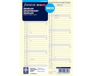 Filofax Årsplan A5 2022