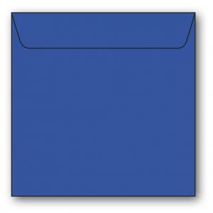 Kvadratiska Kuvert 5-pack 110g Klarblå