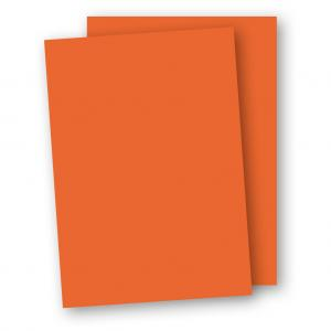 Kartong A4 5-pack 220g Orange