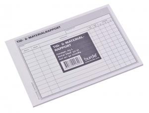 Tid- och materialrapport A5L