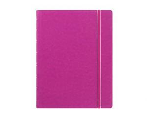 Filofax Notebook Fuchsia linjerad