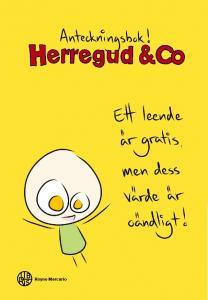 Förlagssystem Anteckningsbok Herregud & Co Gul - Kalenderkungen.se