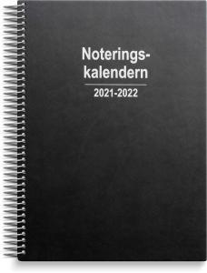 Noteringskalendern 2021-2022