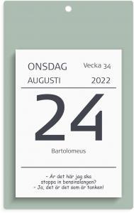Väggplån med dagblock humor 2022