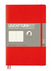Leuchtturm Notebook dotted Red