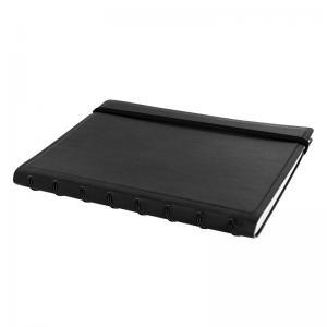Filofax Notebook svart linjerad