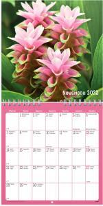 Väggkalender Blommor 2022