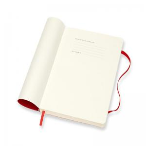 Moleskine Daily Red Soft Large 2022
