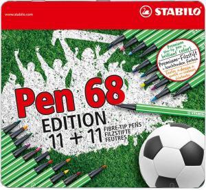 Stabilo Stabilo 68 22-pack Fotboll - Kalenderkungen.se