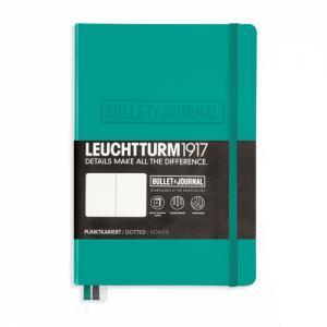 Leuchtturm1917 Leuchtturm Bulletjournal A5 dotted emerald - Kalenderkungen.se