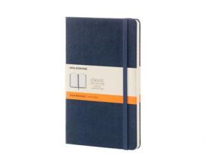 Moleskine Moleskine Ruled Classic Notebook Large - Blå 13x21cm - Kalenderkungen.se