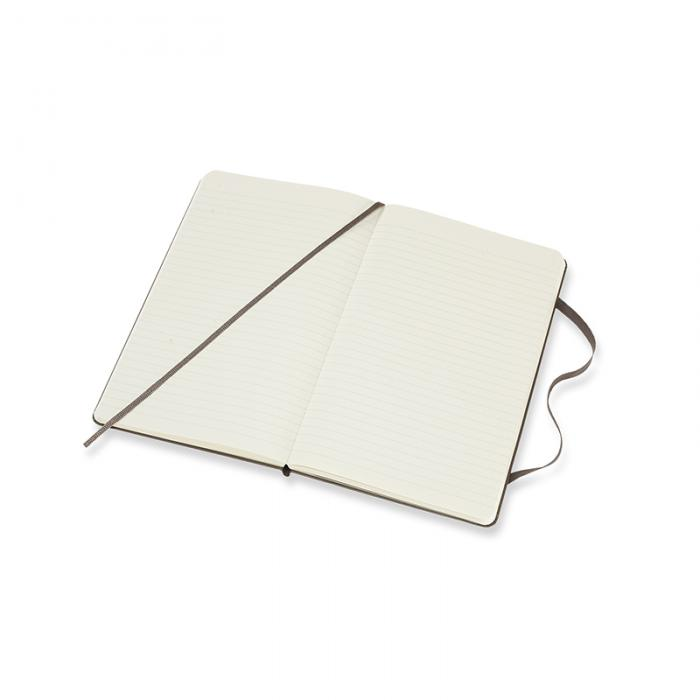 Moleskine Ruled Classic Notebook Large - Svart