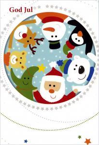 Papperix Julkort - Figurer - Kalenderkungen.se