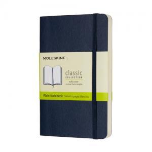 Moleskine Moleskine Notebook Pocket Soft Cover - Blå - Olinjerad - Kalenderkungen.se