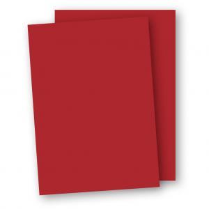 A4 Papper 50-pack 110g Röd