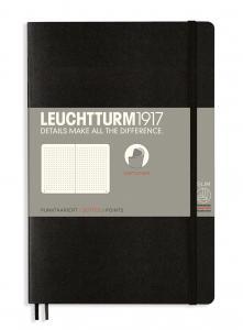 Leuchtturm Notebook dotted black