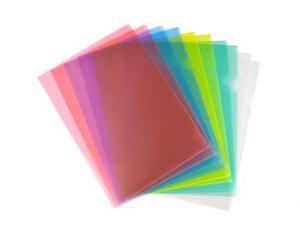 A4 Kontorsmapp i sorterade färger 10-pack