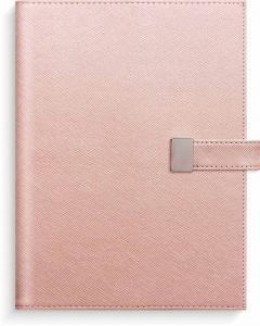Dagbok rosa konstläder Tora med slejf 2022
