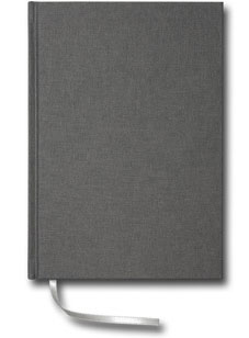 Paperstyle Olinjerad Blank Book A5 256 sidor Anthracite - Kalenderkungen.se