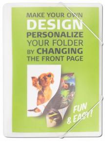 Burde Förlag Snoddmapp Your Design A4 - Kalenderkungen.se