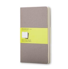 Moleskine Moleskine Cahier Journal Large Plain - Grafitgrå - Kalenderkungen.se
